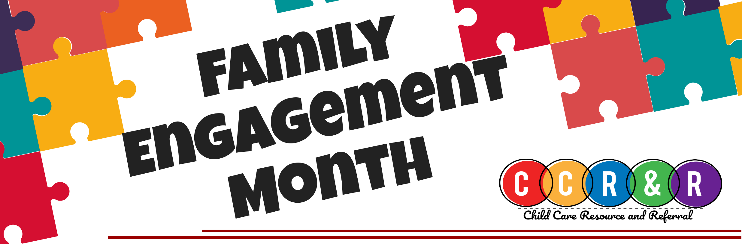 Family Engagement Month Header